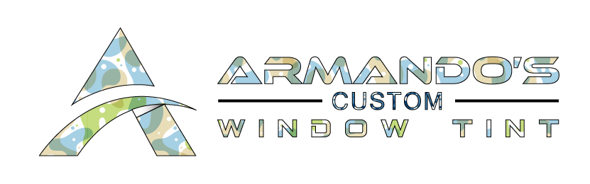 logo for armando's custom window tint