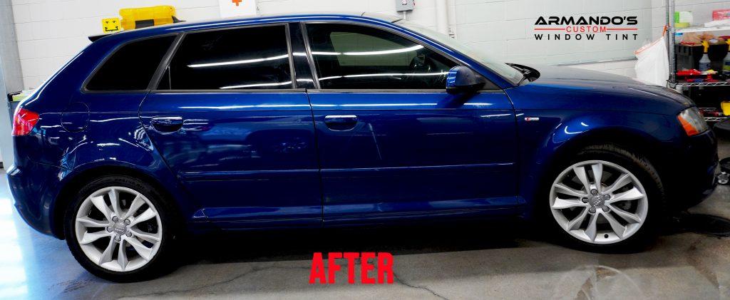Volkswagen after getting window tint